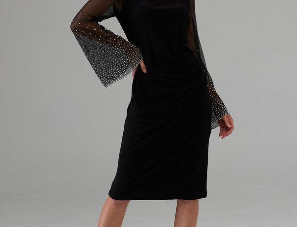 Joseph Ribkoff 203372 Black Dress UK10