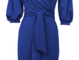 Joseph Ribkoff 212308 Royal Sapphire Dress UK12