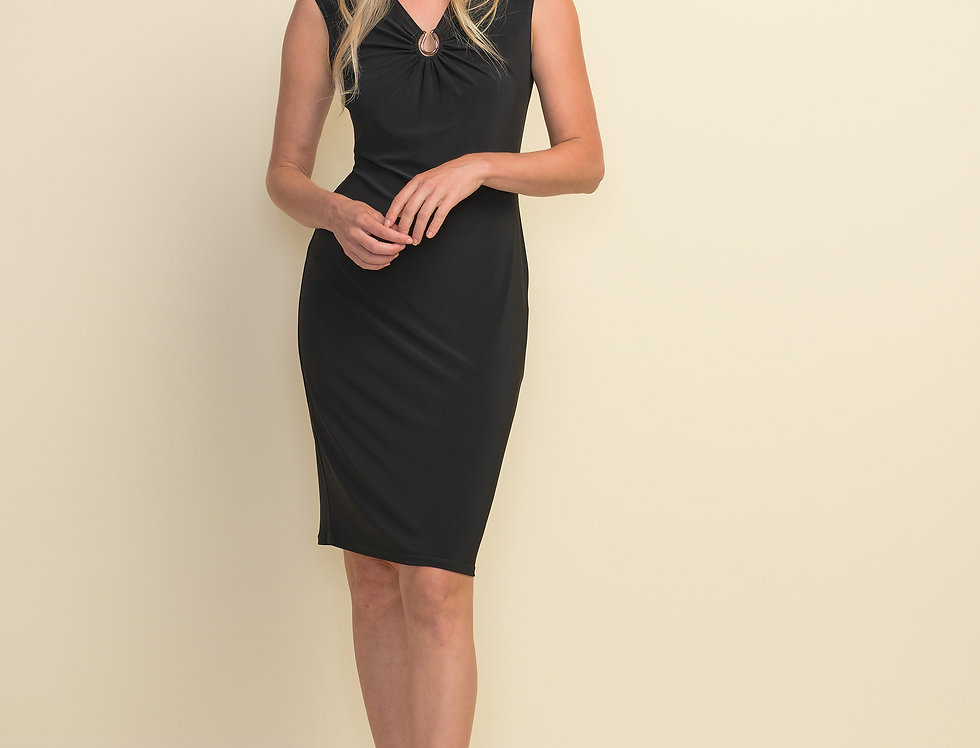 Joseph Ribkoff 211477 Black Dress UK12
