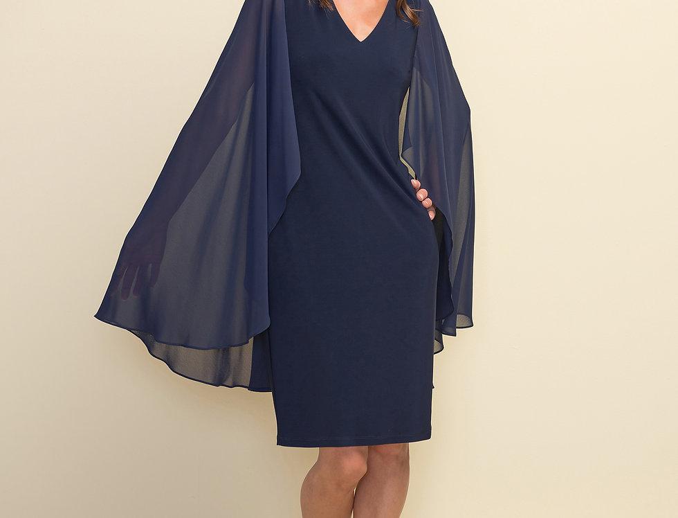 Joseph Ribkoff 211341 Midnight Blue Dress UK10