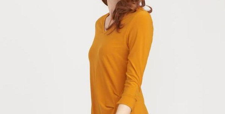Joseph Ribkoff 203390 Turmeric Top UK12