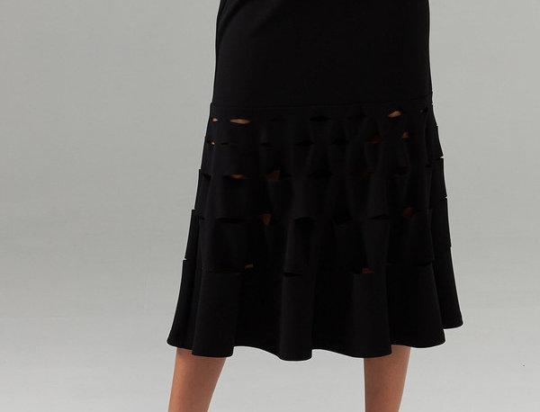 Joseph Ribkoff 203580 Black Skirt UK12