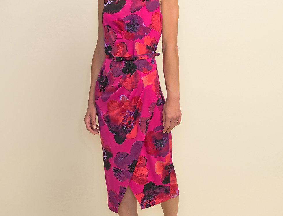 Joseph Ribkoff 211351 Pink/Multi Dress UK10