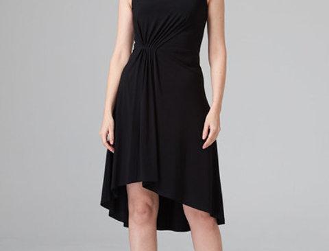 Joseph Ribkoff 202129 Black Dress UK12
