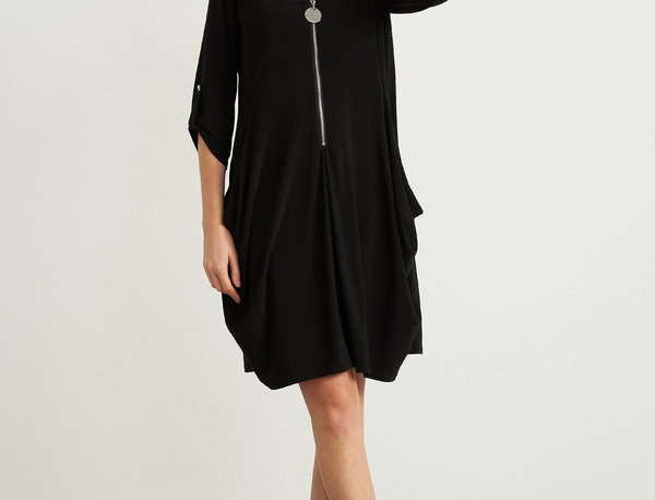 Joseph Ribkoff 211238 Black Dress UK10