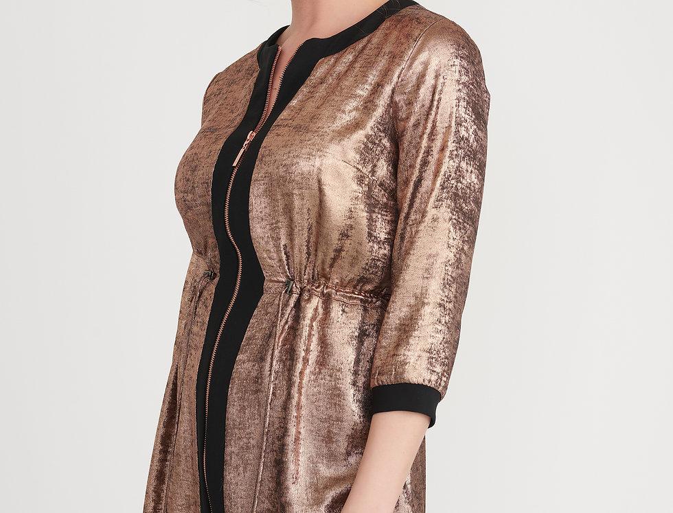 Joseph Ribkoff 203650 Black/Rose Gold Jacket UK12