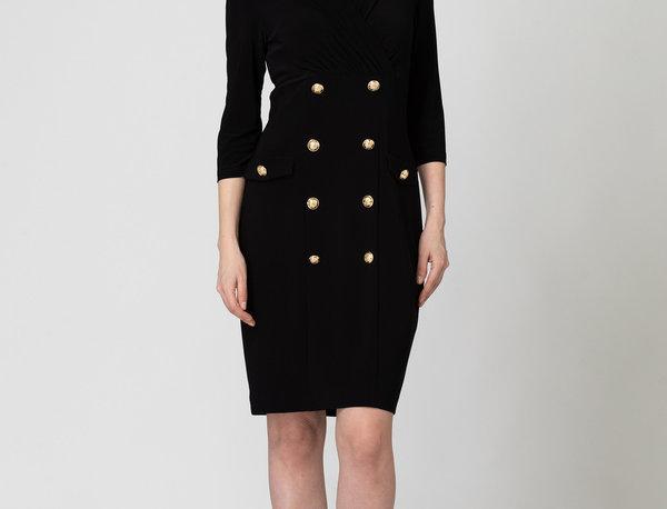 Joseph Ribkoff 193014 Black Dress UK12