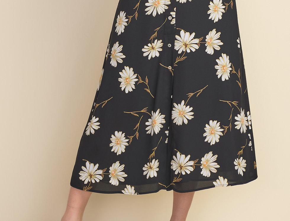 Joseph Ribkoff 212127 Black/Multi Skirt UK12