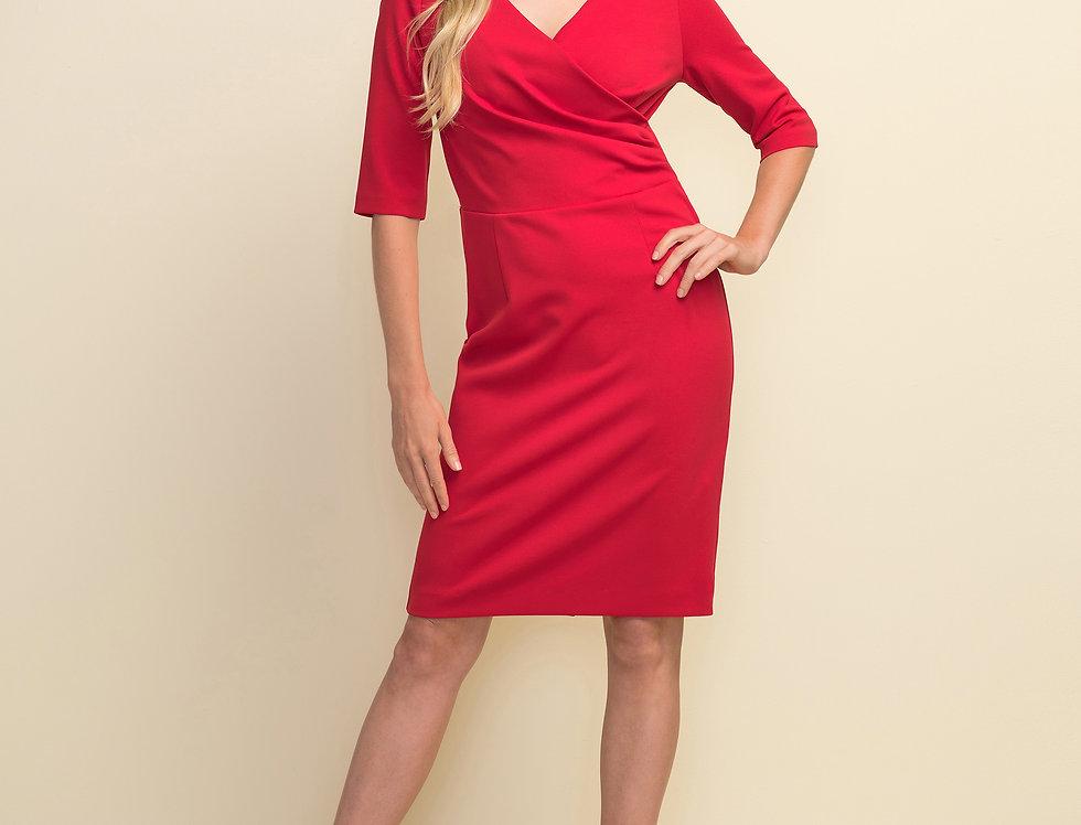 Joseph Ribkoff 211010 Lipstick Red Dress UK10