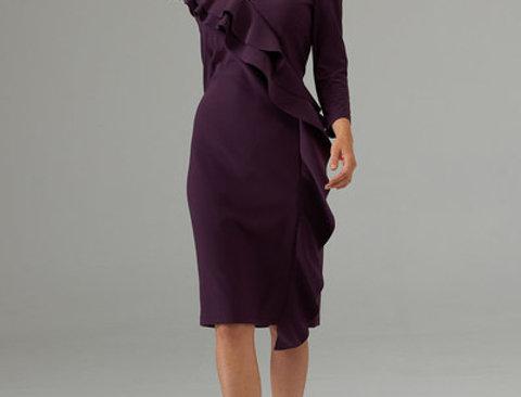 Joseph Ribkoff 203336 Amethyst Dress UK12