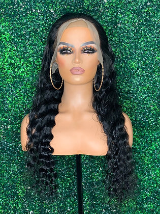 Tropical Wave Lace Front