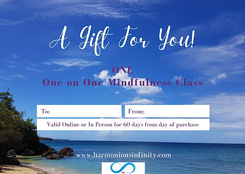 ONE Mindfulness - Influenced by Tai Chi & Qigong - Class