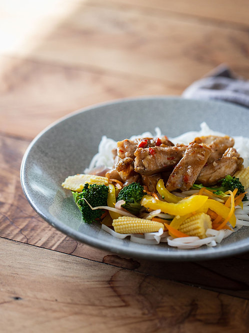 Sticky Sweet Chilli Chicken Stir Fry