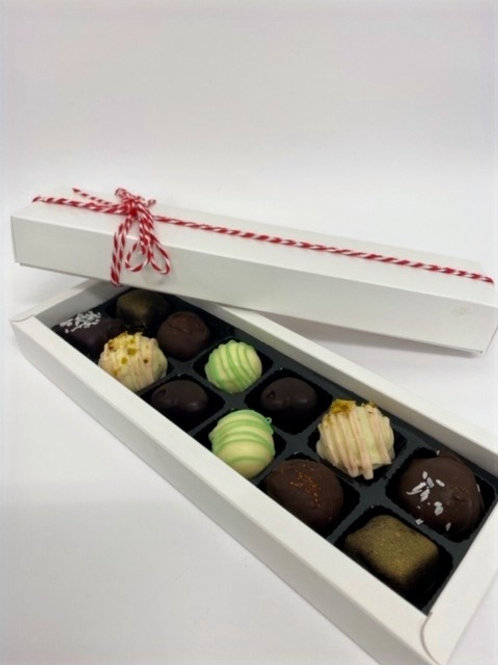 Assorted Handcrafted Chocolate Truffles (12 pack)