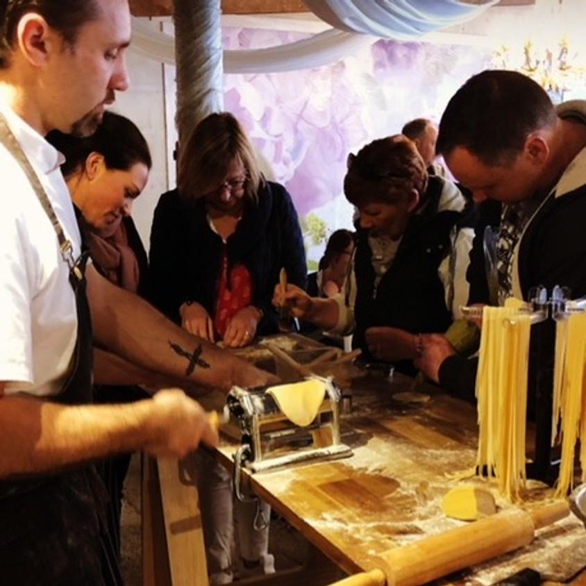 Italian Pasta & Dessert Cooking Class
