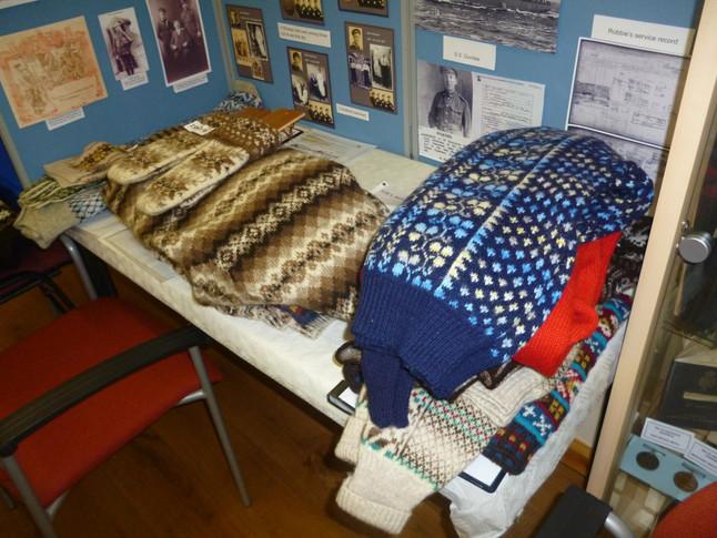 Whalsay Fair Isle Knitting through the ages