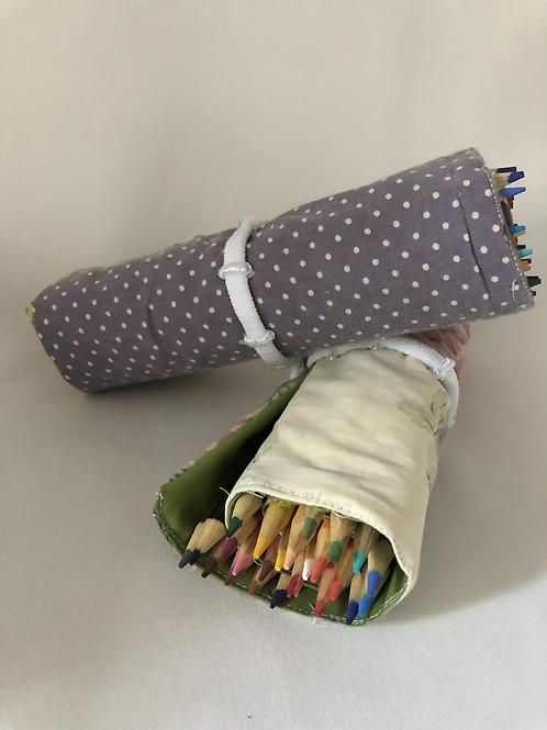 Pencil Crayon Roll Up