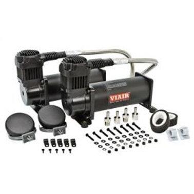 Viair 444c - Dual Air Compressors Twin Kit Black Edition