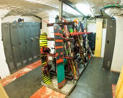 Ski and boot room