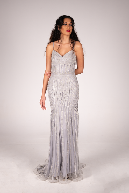 Lourna Gown Silver - BUY