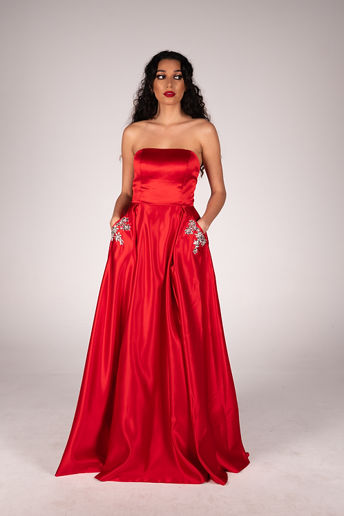 Alyce Gown Red - BUY