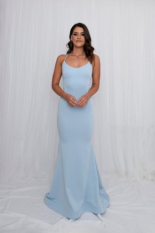 Aylish Gown Baby Blue