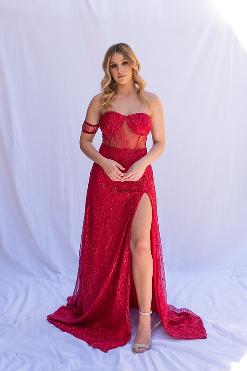 Malia Gown - Red