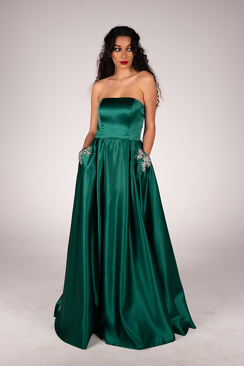 Alyce Gown Emerald