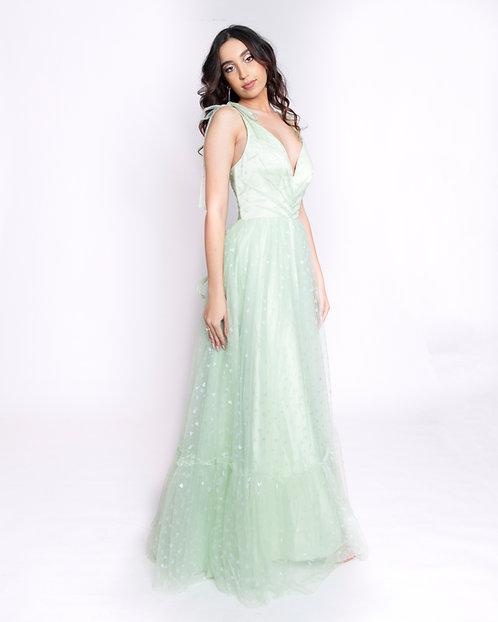 Featherington Gown
