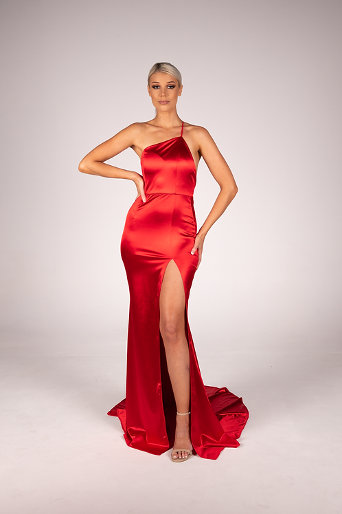 Isla Gown Red