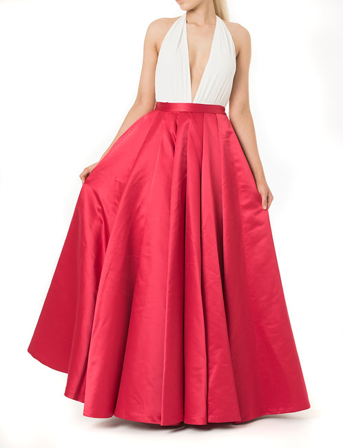 The Wardrobe Exclusive - Zoe Skirt (red)