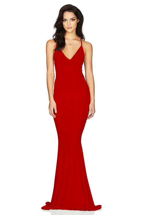 Nookie Hustle Gown - Red