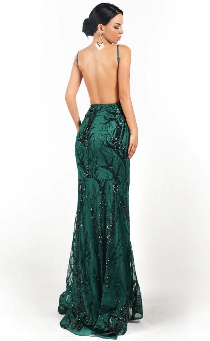 Pandora Gown -Emerald
