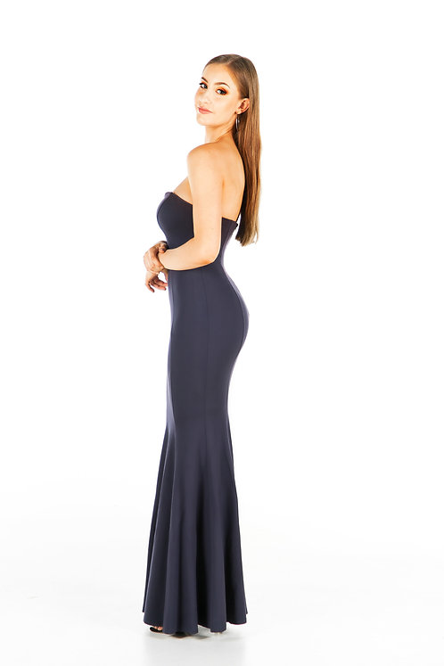 Keely Gown (Navy)