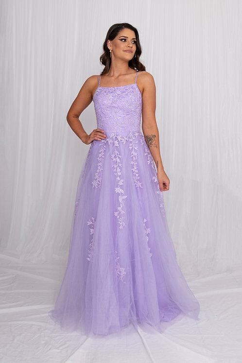 Flynn Gown Lilac - BUY