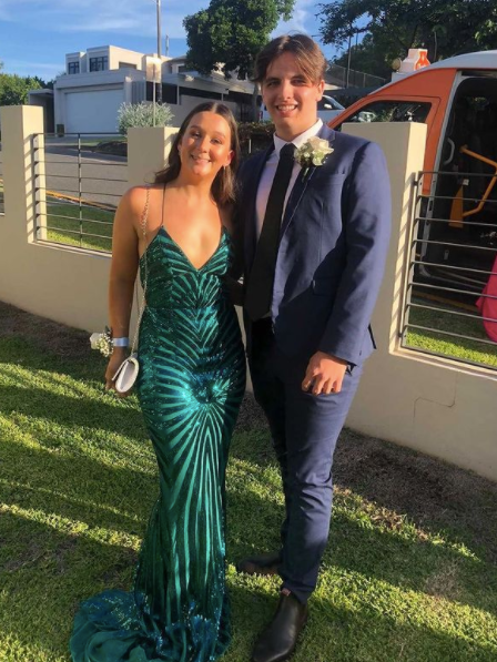 Naxos Gown - Hire