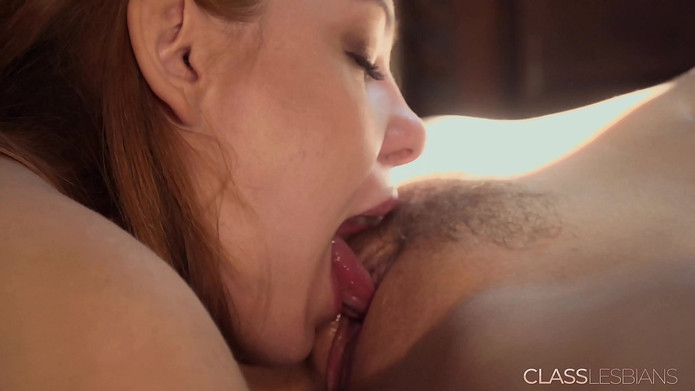 Sexy young lesbians intense orgasms from pussy licking and fingering