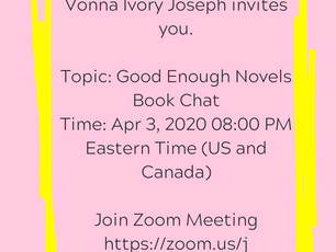 Quarantines are about physical separation, not emotional ones. Join me Friday night! -- Vonna