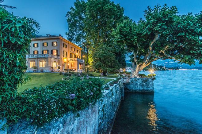 Lake Como Backyard