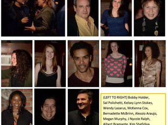 The actors who attended TAPNYC Industry Night