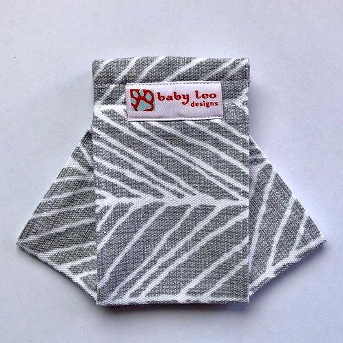 Chevron- grey Origami