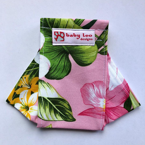 Tropical- pink Origami