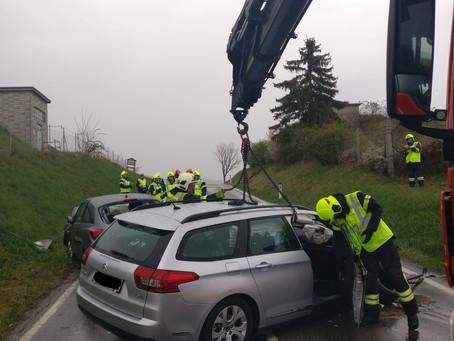 Verkehrsunfall Weinbergstraße
