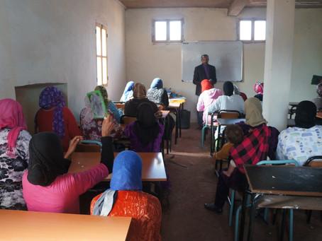 Alphabetisierungsprogramm für Frauen