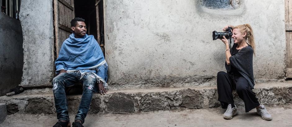 Wir treffen die PortrAID Fotografin Xiomara Bender