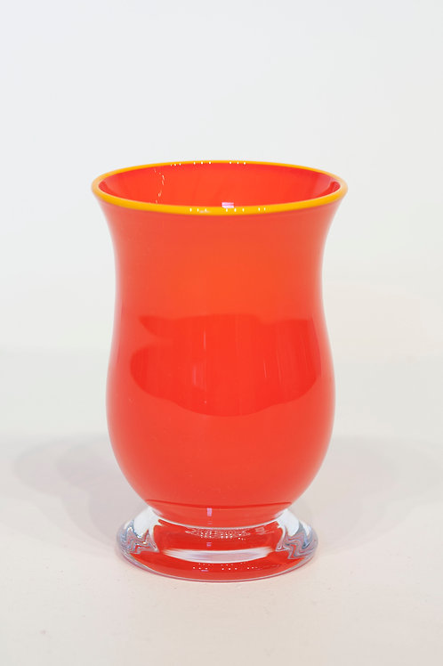 Melkeglass - rød/rosa