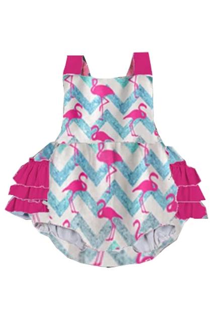 Flamingo Baby Romper