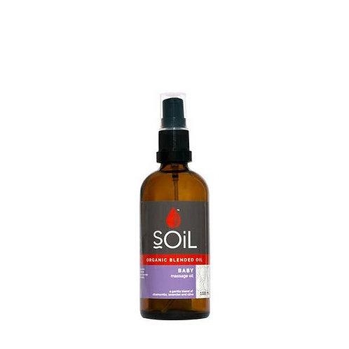 Organic Baby Massage Blended Oil