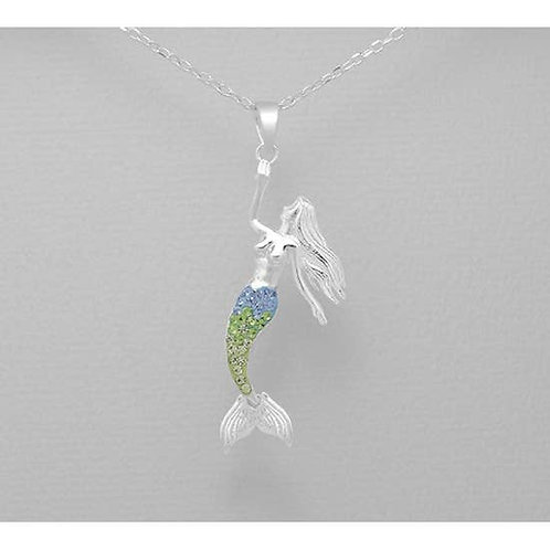 Magical Mermaid Pendant