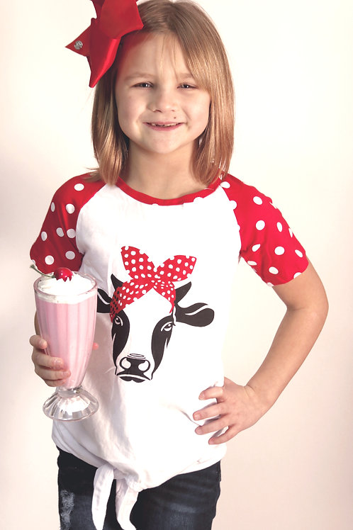 Milk cow t-shirt.